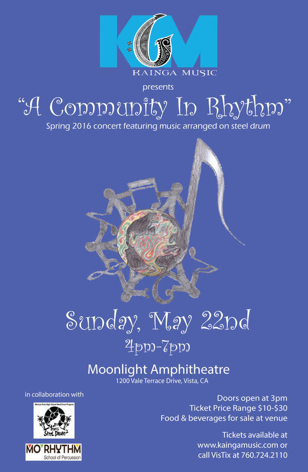 a-community-in-rhythm-flyer